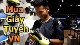 Thử thách bóng đá đi mua giày Quang Hải Bùi tiến dũng , Đoàn văn hậu ĐT Việt Nam mùa Asian CUP 2019