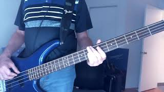 Marillion - Waiting To Happen (Bass Cover)
