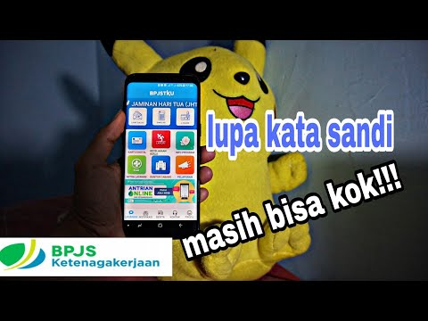 Mengatasi Lupa kata sandi di Aplikasi BPJSTKU (2019)
