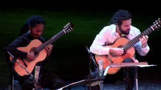 """Brasil Guitar Duo: """"Sonata De Los Viajeros"""" By Leo Brouwer @ Teatro Martí, Havana, Cuba"""