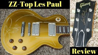 Billy Gibbons ZZ Gold Top | 2001 Gibson Les Paul 1957 R7 Reissue | Aged + Pinstriped | Review