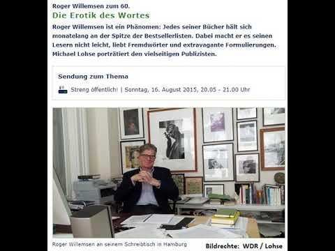 [AUDIO] Roger Willemsen zum 60. - Die Erotik des Wortes (16.08.2015, WDR5) mp3 yukle - mp3.DINAMIK.az