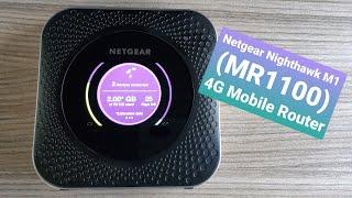 Netgear Nighthawk M1 (MR1100) 4G Mobile Hotspot Router
