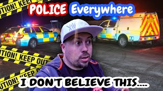 POLICE SURROUNDED THIS ABANDONED VILLAGE WHILE WE WERE EXPLORING