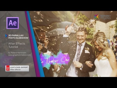 3D Parallax Photo Slideshow – After Effects Tutorial