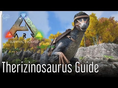 Video Therizinosaurus Guide for ARK: Survival Evolved