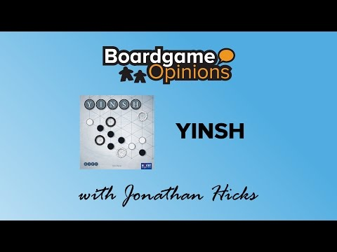 Boardgame Opinions: YINSH