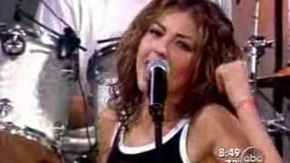 Thalia - Good Morning America Baby, I'm In Love live
