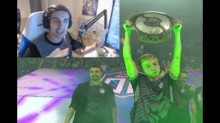 Shroud reacts to The International 8 FINAL