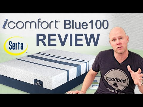Serta iComfort Blue 100 Mattress Review (VIDEO)