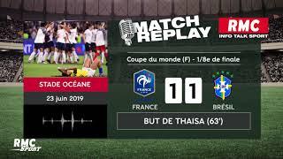 France - Brésil (2-1) : Le Goal Replay Avec Les Commentaires En Live De RMC