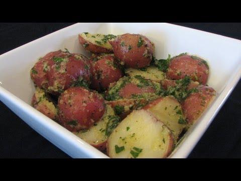 Video Herb Buttered Potatoes -- Lynn's Recipes