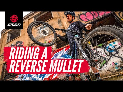 Riding A Reverse Mullet Bike | GMBN's Wheel Size Experiment