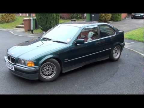 BMW e36 318ti M42B18 Compact 15'' BBS wheels (Sony hdr-cx115 full hd test)