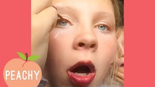 Are You Good At Eyeliner? Cause She Isn't! | Funny Beauty Videos