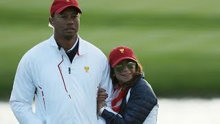 Tiger Woods Shows Off His New Girlfriend