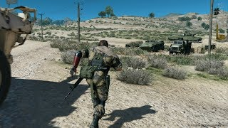 Awesome Stealth Action Game about Special Forces ! Metal Gear Solid V Phantom Pain on PC