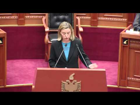 HRVP in Albania -  Speech at the Parliament