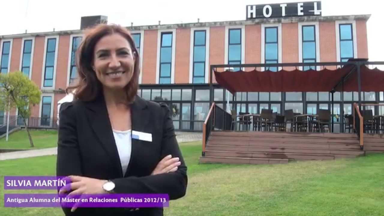 Silvia Martín, alumna del Máster en Relaciones Públicas, Eventos y Protocolo