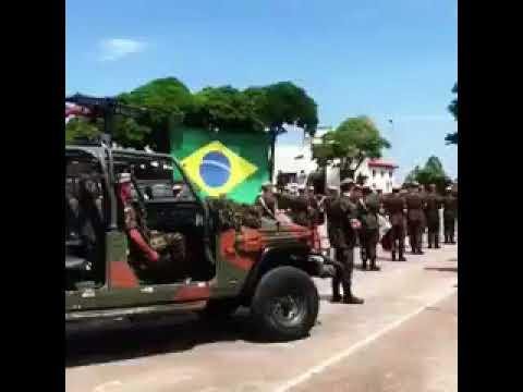 Exército de Caçapava decide homenagear o Corinthians