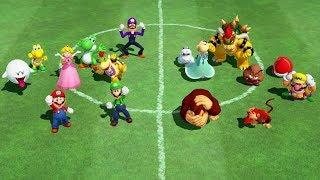 Super Mario Party - All Team Minigames (Team Mario vs. Team Donkey Kong)