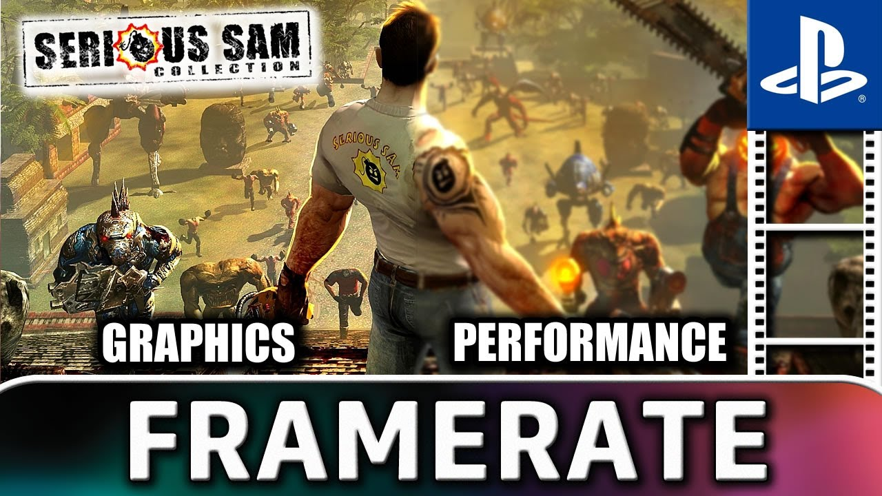Serious Sam Collection | PS4 Frame Rate Test (GRAPHICS and PERFORMANCE)