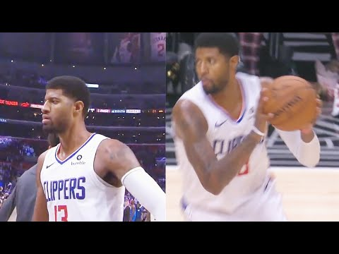 Paul George Brings Clippers Crowd To Their Feet With Crazy Clutch Shot! Clippers vs Thunder