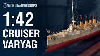 World of Warships - 1:42 Scale Cruiser Varyag
