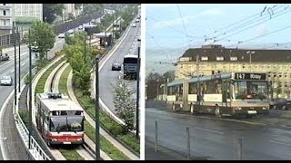 preview picture of video 'Essen Duo-Bus: Tunnel Ramp - Kray O-Bahn Busway'
