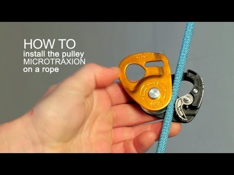 Micro Traxion Pulley