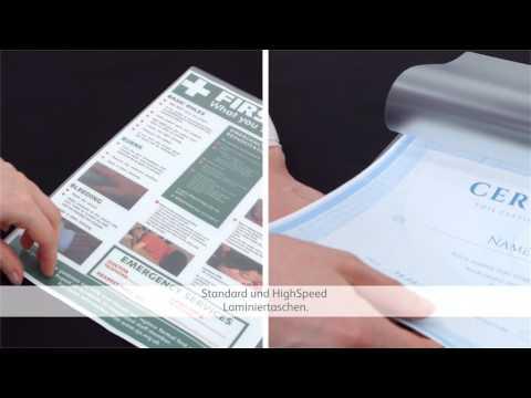 GBC - Die Auswahl der Laminierfolie - Anleitungsvideo (DE)