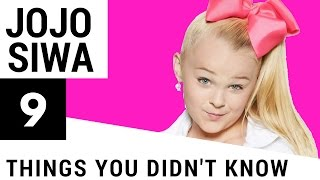 9 Things You Didn't Know About JoJo Siwa!