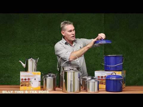 BIlly Tins & Tea Pots