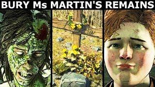 Ruby & Clementine Bury Ms. Martin - The Walking Dead Final Season 4 Episode 2 (Telltale Series)