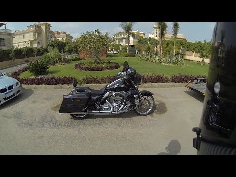 Harley-Davidson Street Glide CVO walk around and start