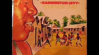 Barrington Levy    Poor Man Style  1982