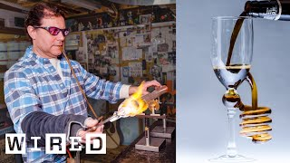 Scientific Glass Blower Makes Beer Glasses | WIRED