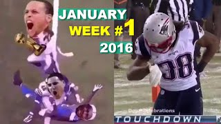 Best Sports Vines 2016 - JANUARY Week 1 (with Title)