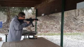 SIG MPX Muzzle Device Test #1