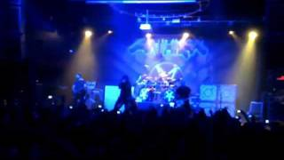 Anthrax- intro... Earth on Hell live at Revolution Ft Lauderdale