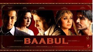Kehta Hai Baabul Song | Baabul Movie | Amitabh Bachchan