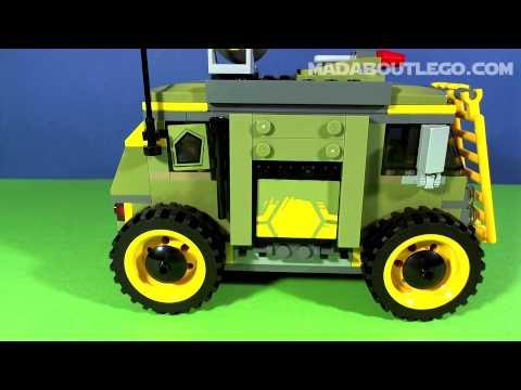 Vidéo LEGO Tortues Ninja 79115 : L'attaque du Van des Tortues