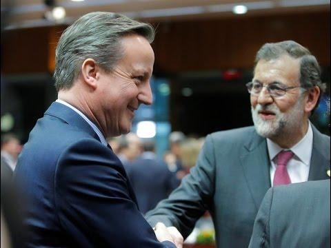 Rajoy, a Cameron: