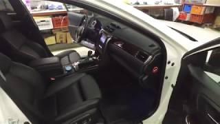 Передние сиденья от BMW 5 серии F10 на Toyota Camry