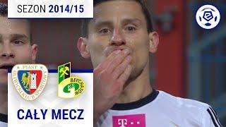 Piast Gliwice - GKS Bełchatów [1. połowa] sezon 2014/15 kolejka 21