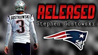 Patriots release Kicker Stephen Gostowski