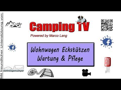 Wohnwagen Eckstützen/Kurbelstützen Wartung/Pflege