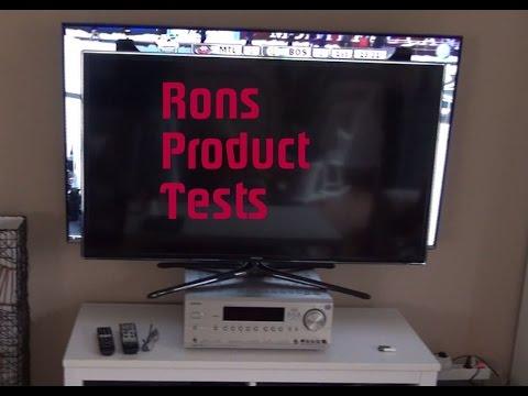TV Größe Size Vergleich 46 Zoll 55 Zoll inch Samsung Fernseher Unterschied