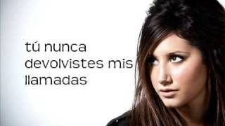 erase and rewind ( español ) ashley tisdale
