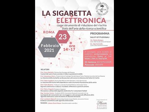Anteprima del video La sigaretta elettronica come strumento di riduzione del rischioStato dell'arte della ricerca scientifica